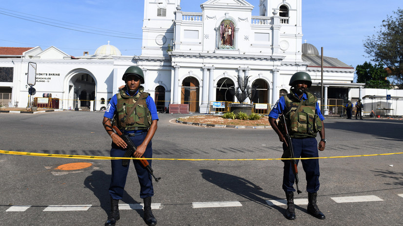 «Ответ на атаку в Новой Зеландии»: власти Шри-Ланки назвали возможные мотивы организаторов терактов