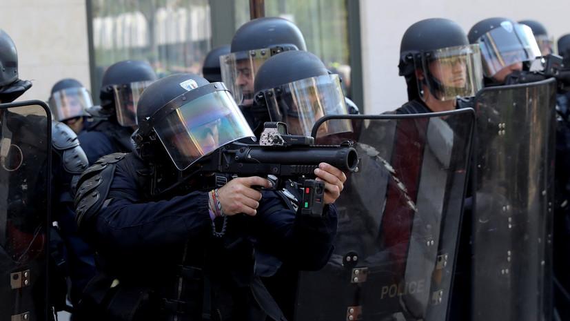Во французском Лурде спецназ проводит операцию