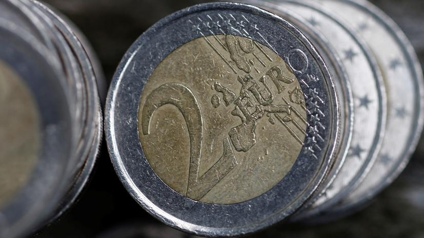 Курс евро обновил минимум 2019 года