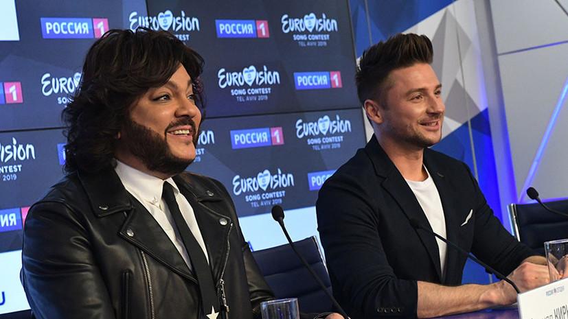 «Это не реванш»: Киркоров и Лазарев рассказали о подготовке к Евровидению