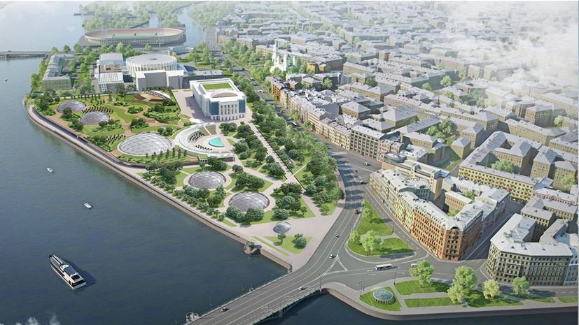 Название новой парковой зоны в центре Петербурга определят горожане