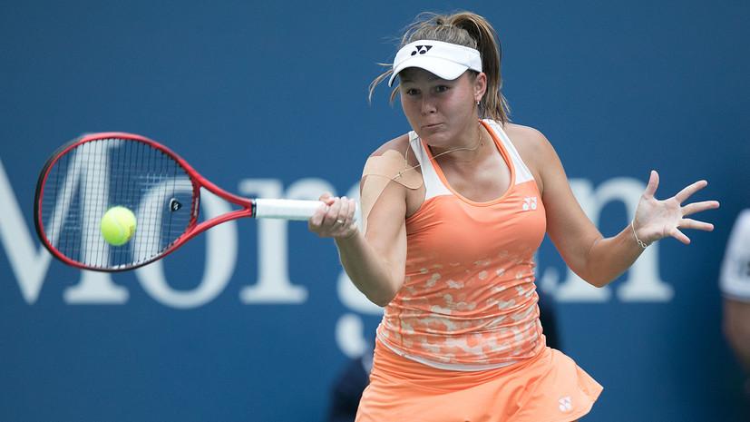 Родина уступила Пармантье в первом круге турнира WTA в Стамбуле