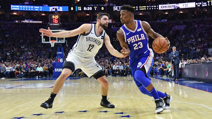 «Филадельфия», «Торонто» и «Портленд» вышли во второй раунд плей-офф НБА