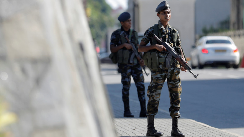 На Шри-Ланке произвели ещё один контролируемый взрыв