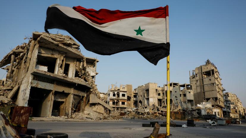 Один человек погиб и пятеро пострадали из-за взрыва в Дамаске