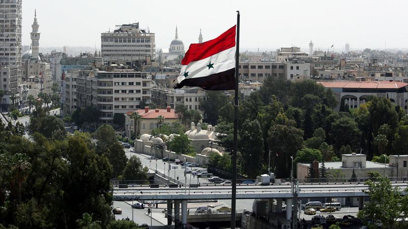 Сирия потребовала распустить международную коалицию во главе с США