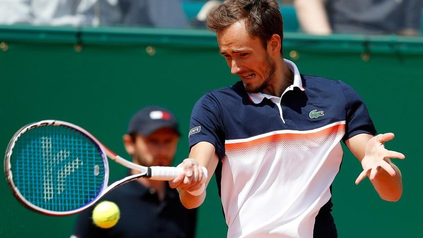 Медведев вышел в третий круг турнира ATP в Барселоне