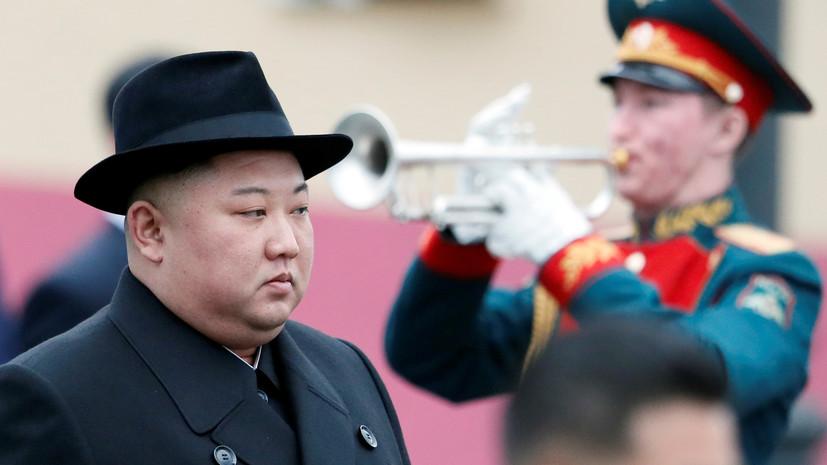 Ким Чен Ын дал первое интервью журналисту из России