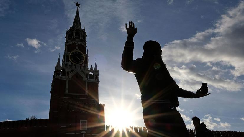 В Московском регионе побит температурный рекорд