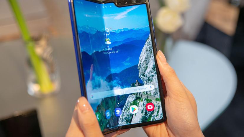 Названа причина поломок Samsung Galaxy Fold