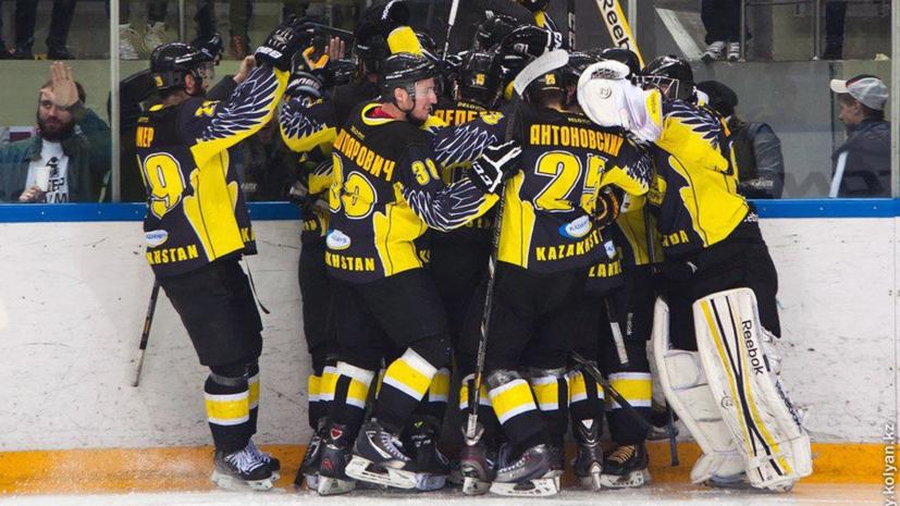 «Сарыарка» второй раз в истории стала чемпионом ВХЛ