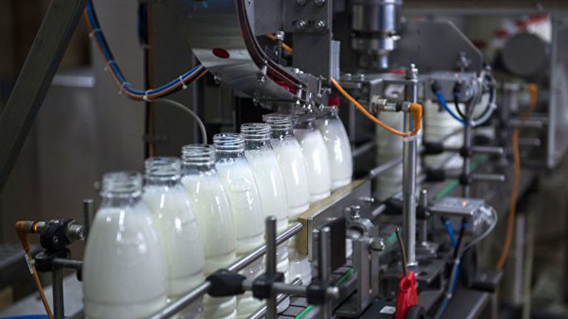 Подмосковье заняло первое место среди регионов по экспорту молока в 2018 году
