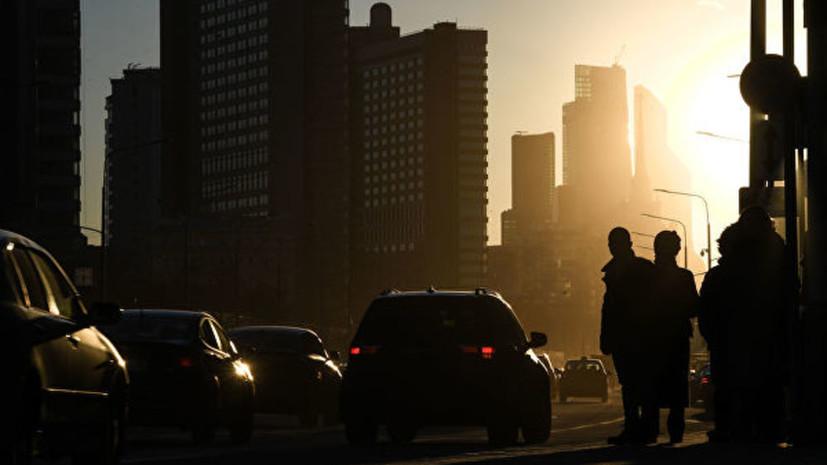В Москве 25 апреля стало самым тёплым днём с начала года