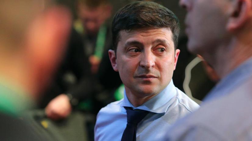 Зеленский обвинил ЦИК Украины в оттягивании его инаугурации