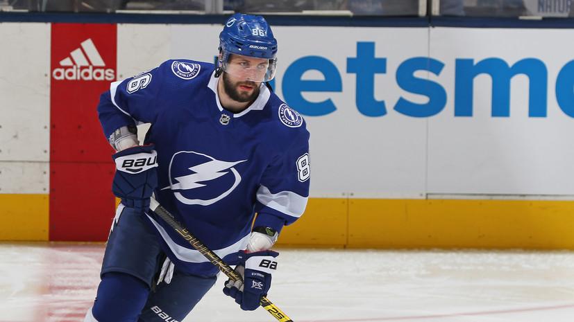 Кучеров вошёл в число претендентов на приз лучшему игроку сезона в НХЛ