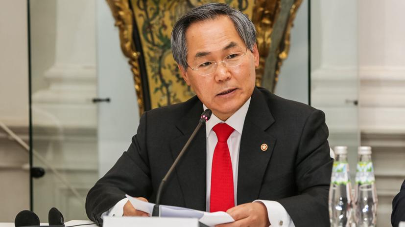 Южнокорейский посол заявил о возможном визите Путина в Южную Корею до конца 2019 года