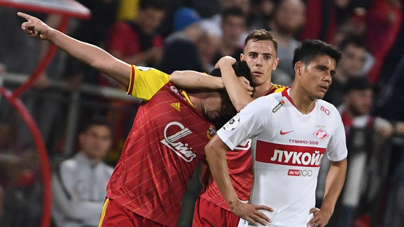 Эксперименты в защите, три пропущенных мяча и отсутствие голевых моментов: «Арсенал» разгромил «Спартак» в матче РПЛ