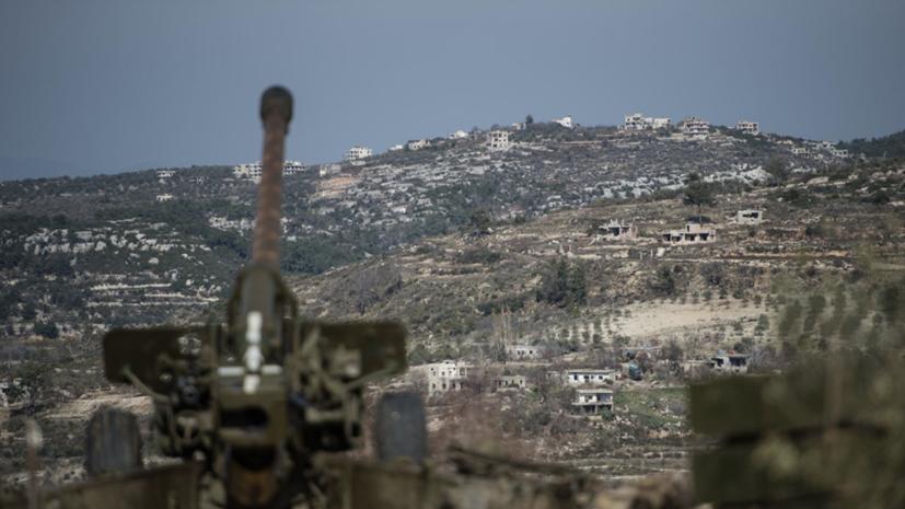 В Сирии военные уничтожили установку системы залпового огня боевиков