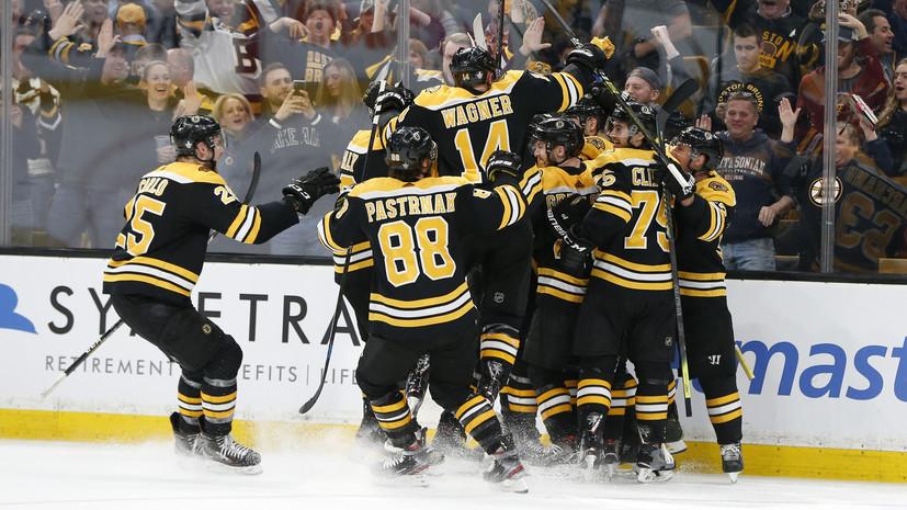 «Коламбус» проиграл «Бостону» в плей-офф НХЛ, несмотря на передачу Панарина
