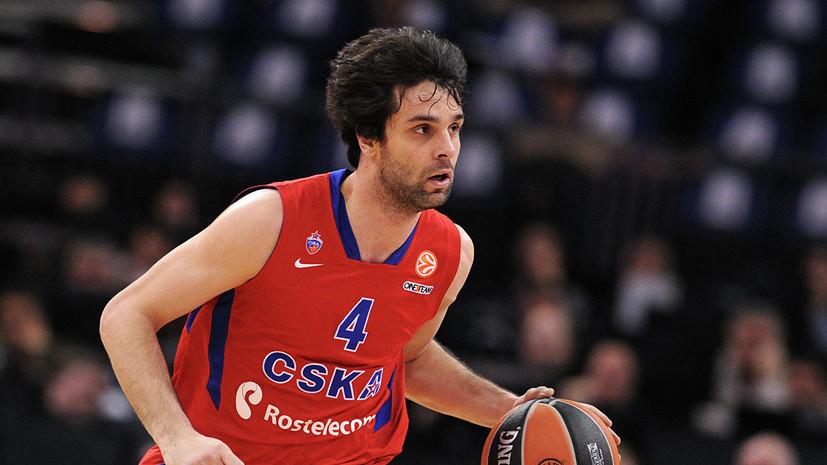 СМИ: Баскетболист Теодосич вернётся в ЦСКА