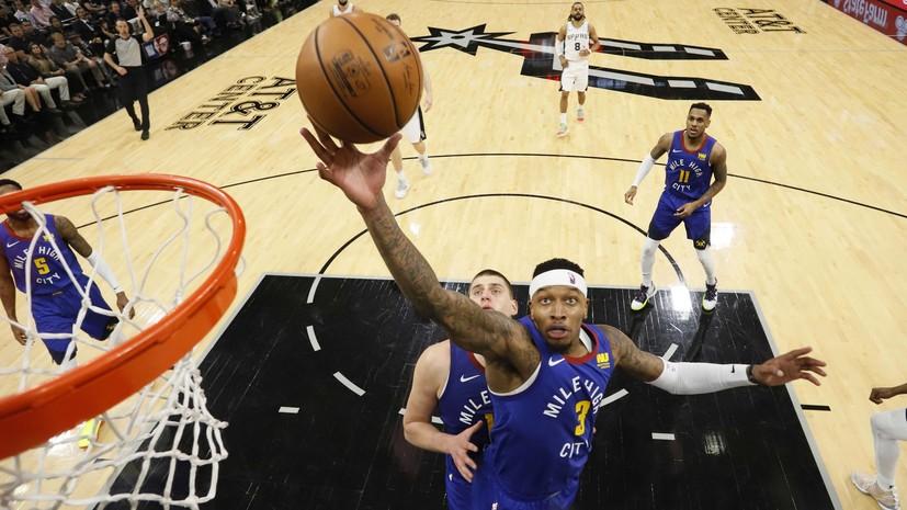 «Сан-Антонио» сравнял счёт в серии плей-офф НБА с «Денвером»