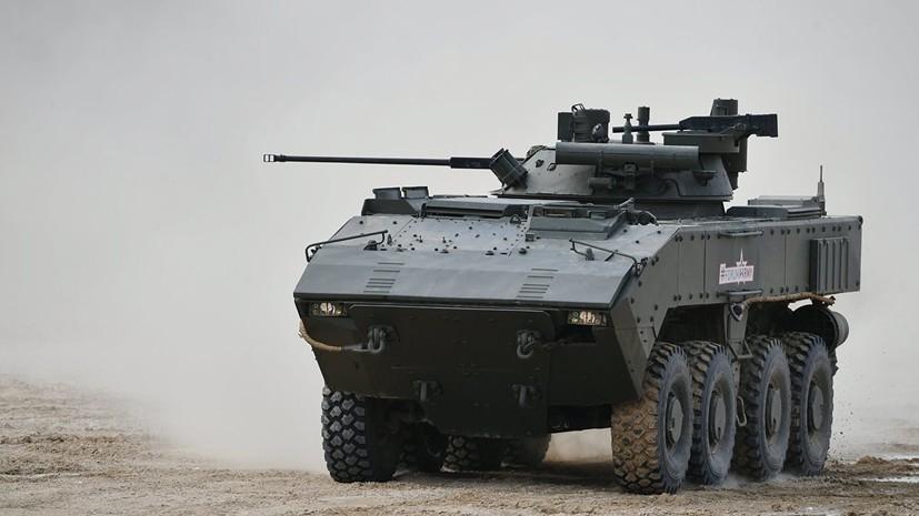 Разработчик рассказал об итогах испытаний боевой платформы «Бумеранг»