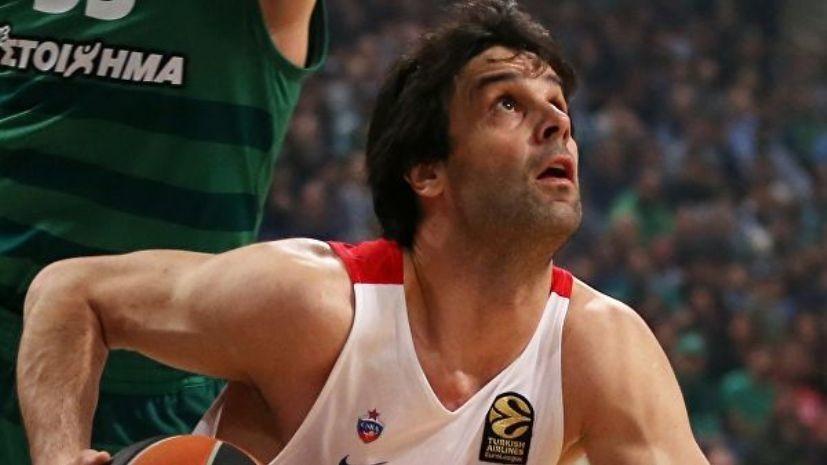В ЦСКА опровергли слухи о возвращении баскетболиста Теодосича