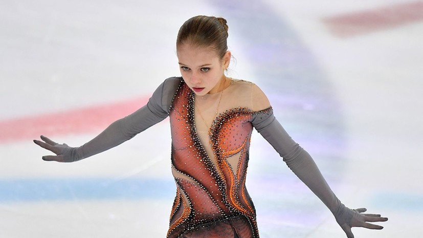 Фигуристка Трусова рассказала, как Медведева и Загитова ей помогали