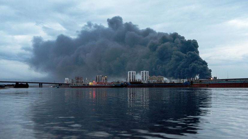 Пожар на территории завода «Красмаш» локализован