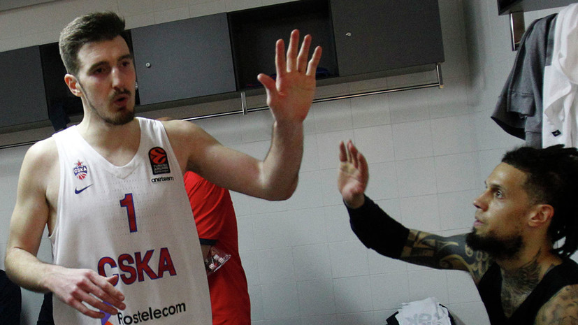 Баскетболист ЦСКА де Коло признан MVP четвёртых матчей раунда плей-офф Евролиги