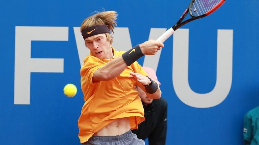 Теннисист Рублёв вышел во второй круг квалификации турнира в Мюнхене