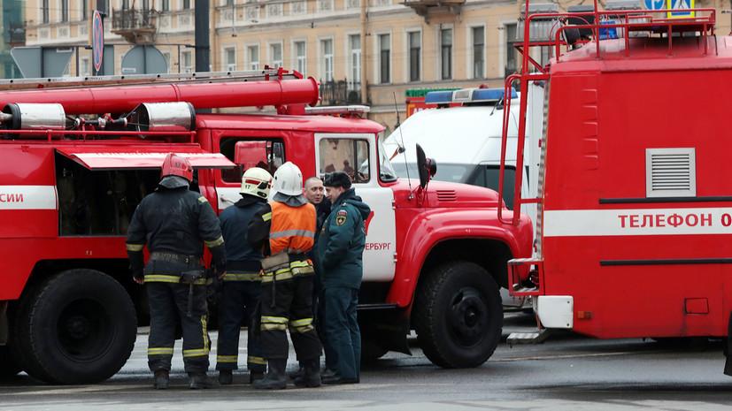 Снаряд малого калибра: что известно о взрыве на набережной в Санкт-Петербурге