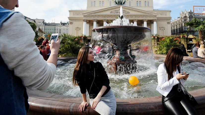 В Москве к концу первых майских праздников может потеплеть до +20 °С