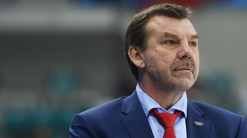 ХК «Спартак» объявил о назначении Знарка на пост главного тренера