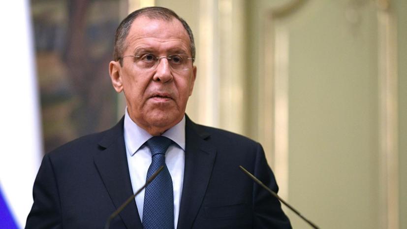 Лавров отметил рост давления на российских журналистов за границей