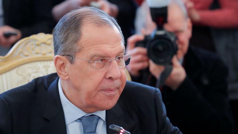 Лавров назвал слова Помпео о вмешательстве России в выборы небылицами
