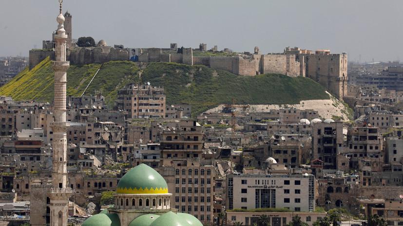 В Сирии боевики обстреляли населённые пункты в трёх провинциях