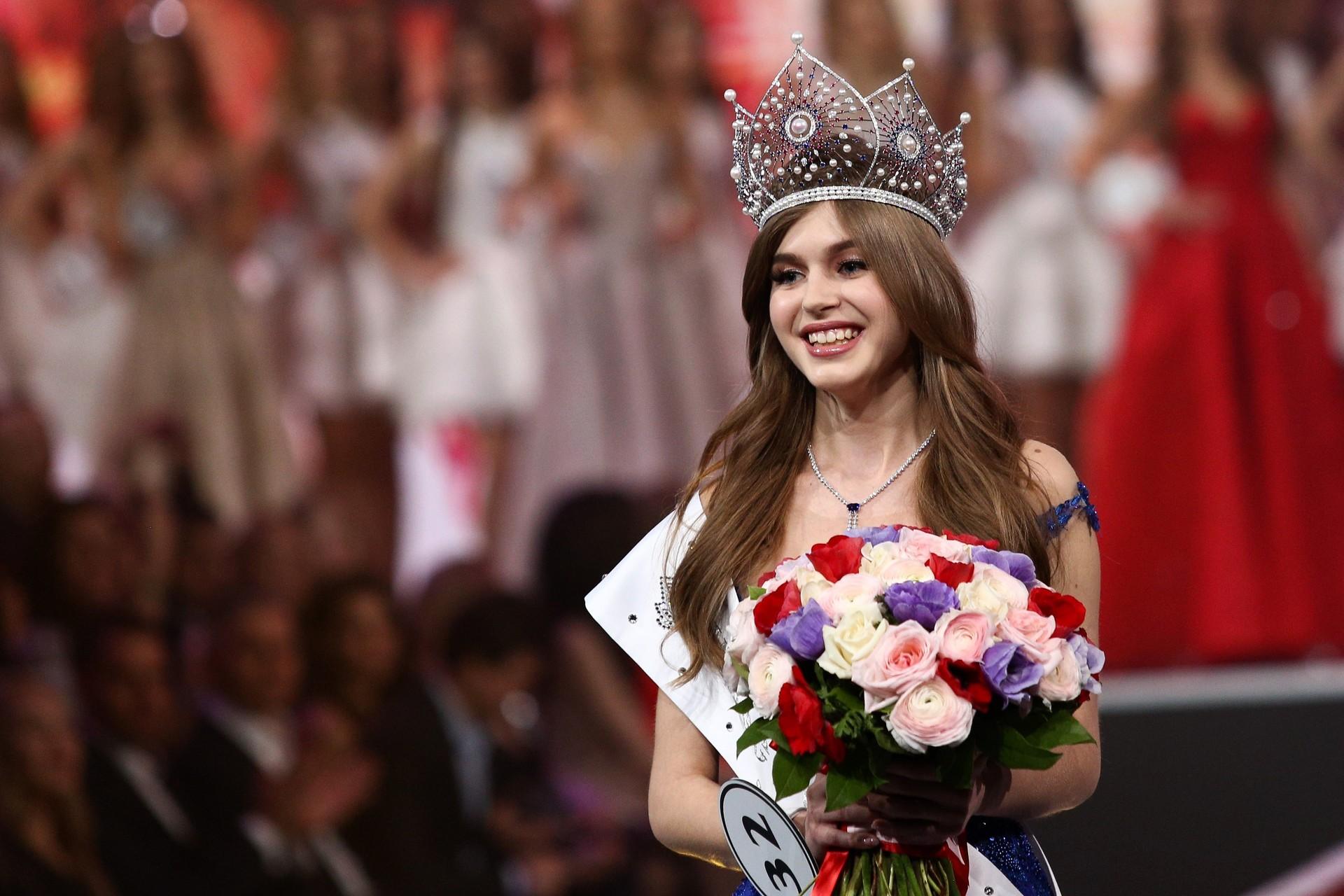 نتيجة بحث الصور عن Alina Sanko Miss Russia 2019