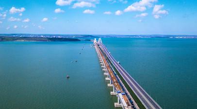Крымский мост через Керченский пролив