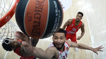 ЦСКА сыграет с «Басконией» в плей-офф баскетбольной Евролиги