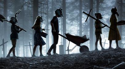 Кадр из фильма «Кладбище домашних животных»