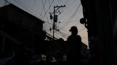 В ряде штатов Венесуэлы электричество будут отключать на три часа в день