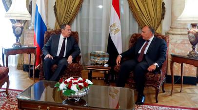 Глава МИД Египта призвал стороны конфликта в Ливии к сдержанности