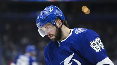 Кучеров признан второй звездой последнего дня регулярного чемпионата НХЛ