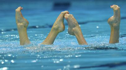 Аверина и Васильев завоевали серебро и бронзу на этапе Мировой серии по синхронному плаванию
