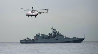Корабли ЧФ выведены на дежурство из-за учений НАТО в Чёрном море