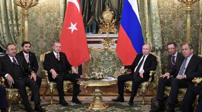 Путин рассказал о действиях России и Турции для нормализации в Сирии