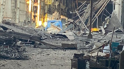 Прокуратура начала проверку после обрушения на заводе в Дзержинске