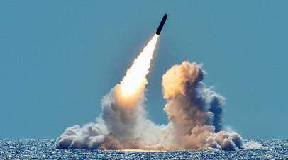 Пуск ракеты Trident II D5