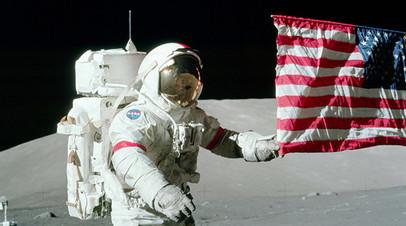 Рогозин назвал планы США по высадке на Луну «ширмой»